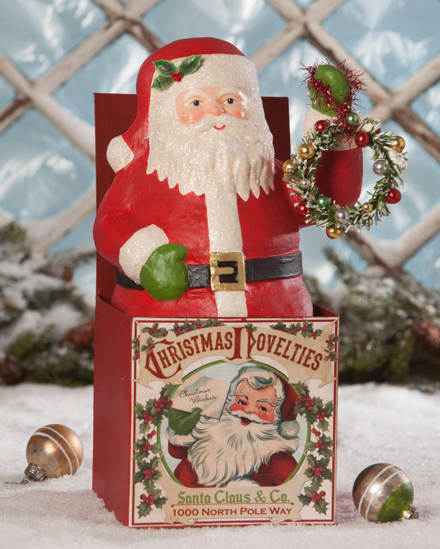 Santa Jack-in-the-Box