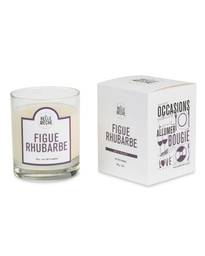 Fig Rhubarb Scented Candle, 190 g