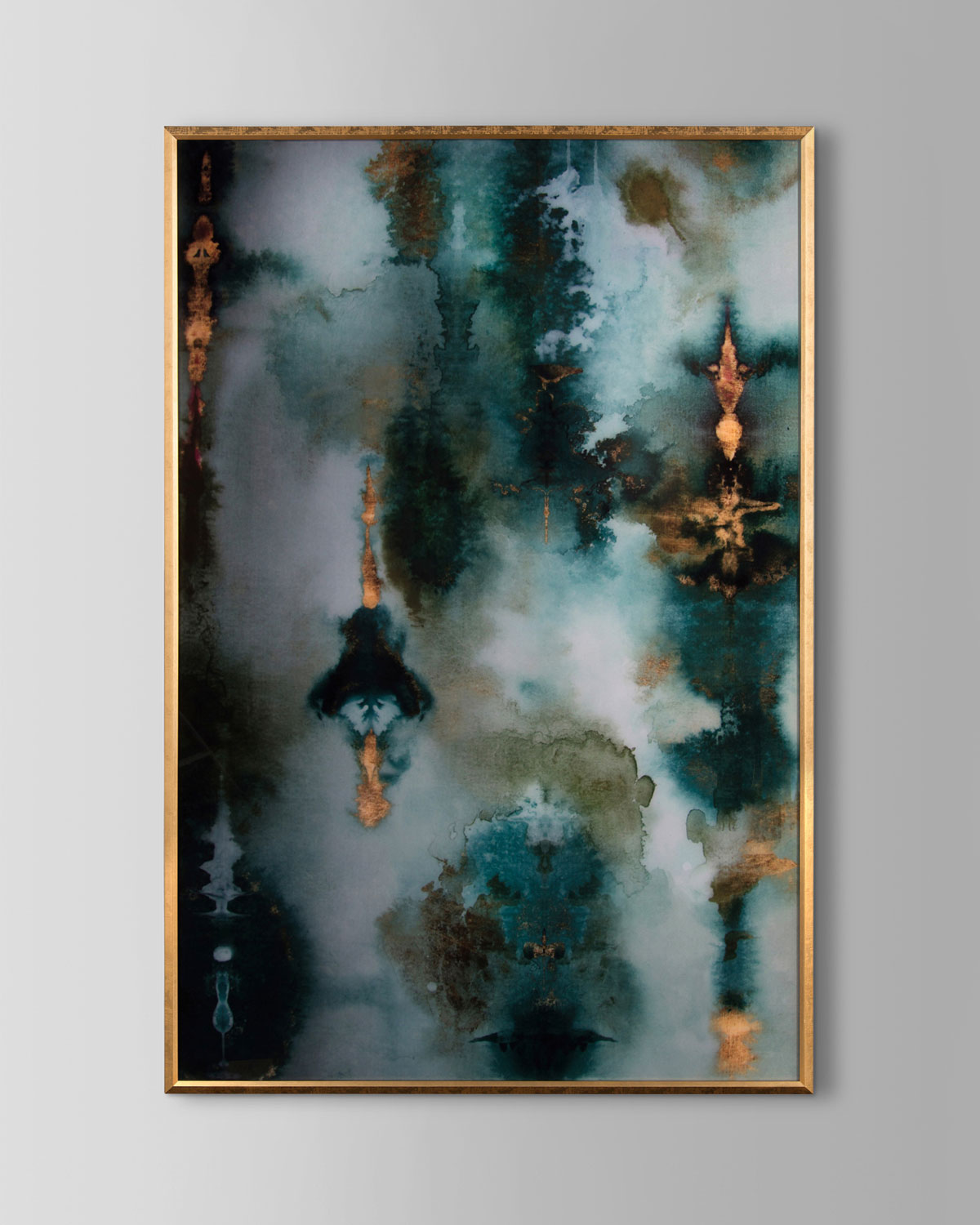 """Handcrafted acrylic wall art. Hanging hardware included. 47.5""""W x 1""""D x 71""""T. Made in the USA. Boxed weight, approximately 38 lbs."""