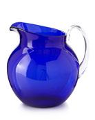 Mario Luca Giusti Palla Transparent Acrylic Pitcher, Blue