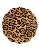 Deborah Rhodes Mod Jaguar Scallop Placemat