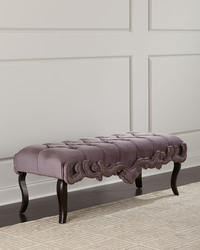 Camile Tufted Bench