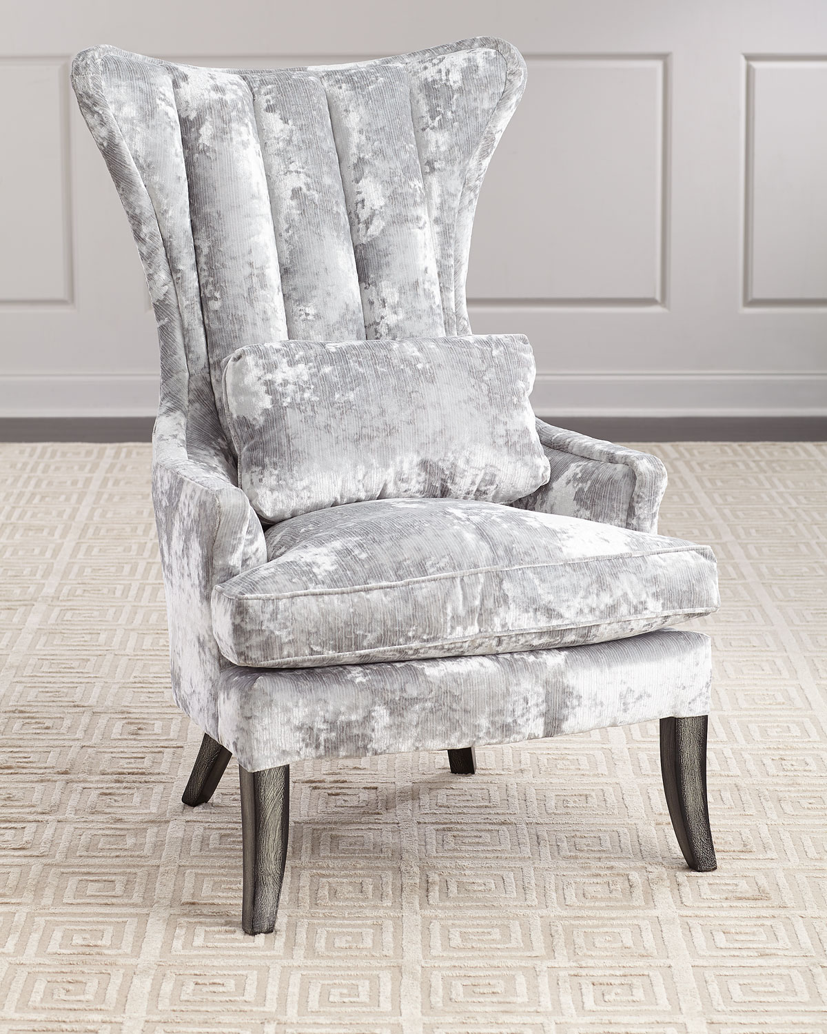 Arlene ChannelTufted Wing Chair