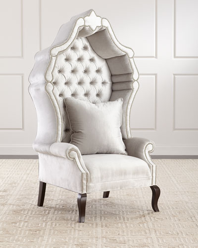 Antoinette Hooded Hostess Chair