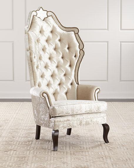 Haute House Anoinette Velvet Chair