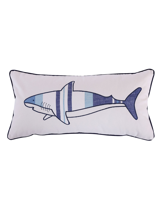 Sammy Shark Printed Pillow