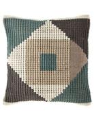 Geo-Shape Colorblocked Pillow