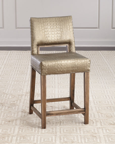 Old Hickory Tannery Avery Counter Stool
