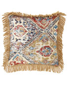Dian Austin Couture Home Abacus Square Medallion Pillow