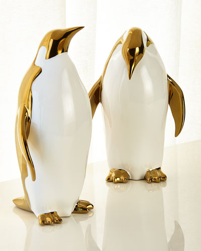 Penguin Objects Decor, Set of 2