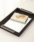John-Richard Collection Leather Mirror Tray