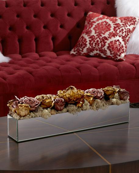 John-Richard Collection Rose Gold Reflection Arrangement