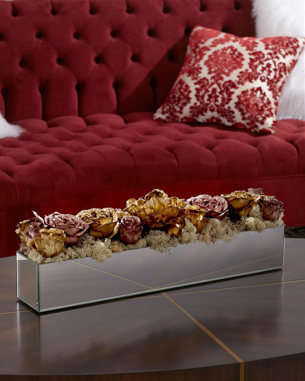 Rose Gold Reflection Arrangement