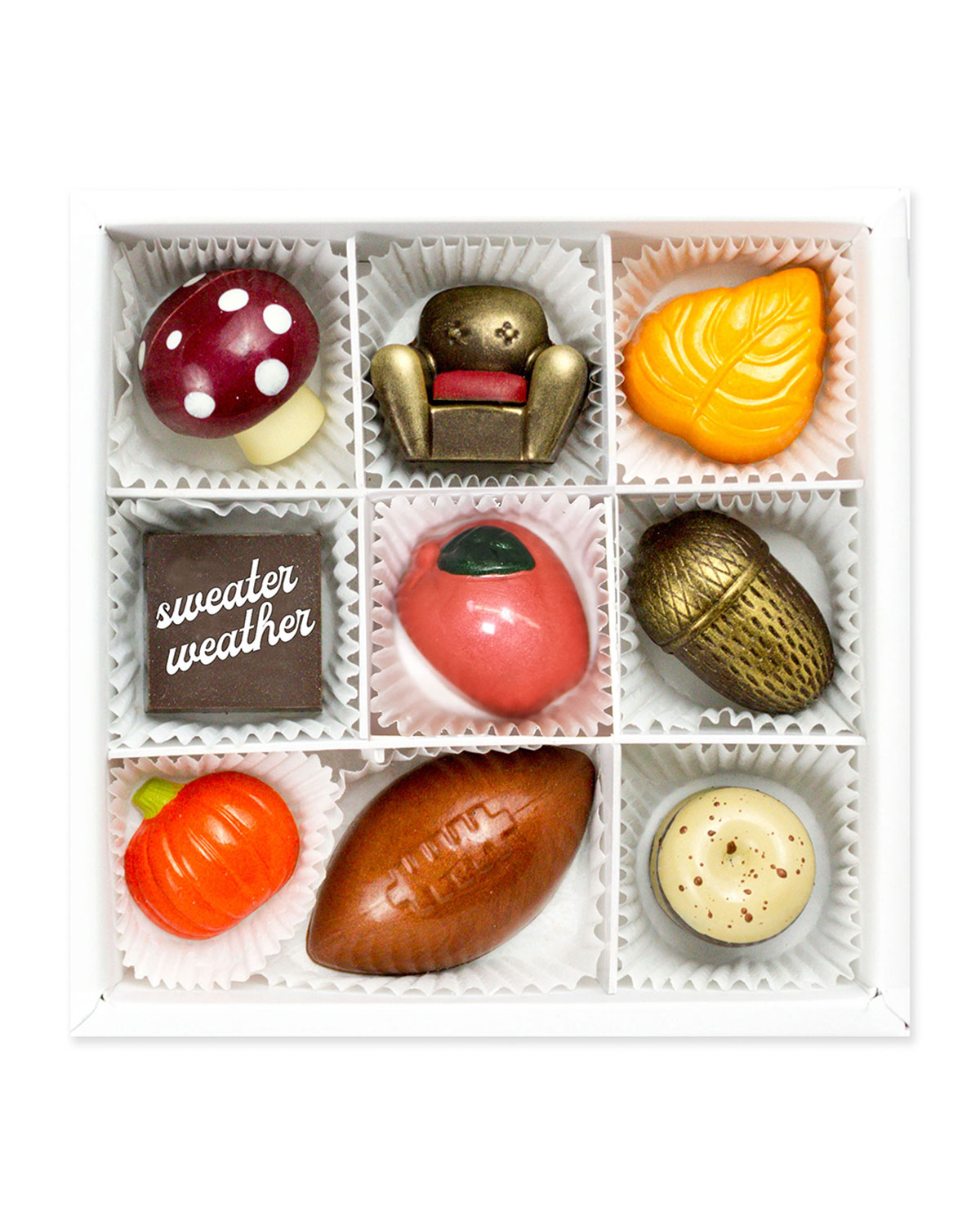 Sweater Weather Chocolate Gift Box