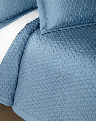 Trinity Quilted Queen Coverlet