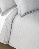 Home Treasures Zermatt Fil Coupe Quilted King Coverlet