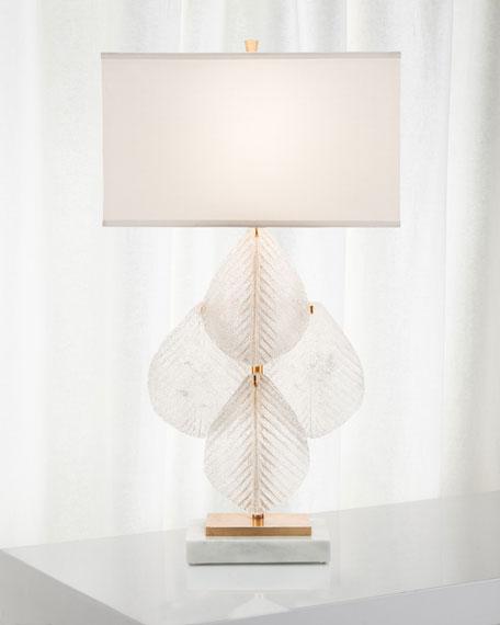 John-Richard Collection Glass Petal Table Lamp