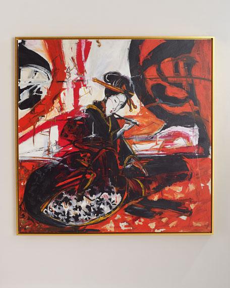 """Ode to Gakutei"" Giclee Canvas Wall Art"