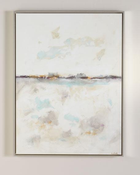 """""""Coastal Calm"""" Original Canvas Wall Art by Linda Donahue"""