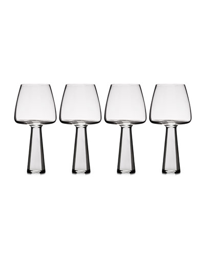 Baobab White Wine Glasses, Set 4