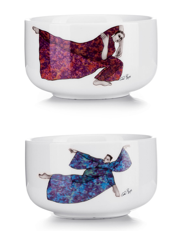 Balancing Act Small Bowls, Set of 2