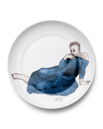 Enticing Dinner Plates, Set Of 4