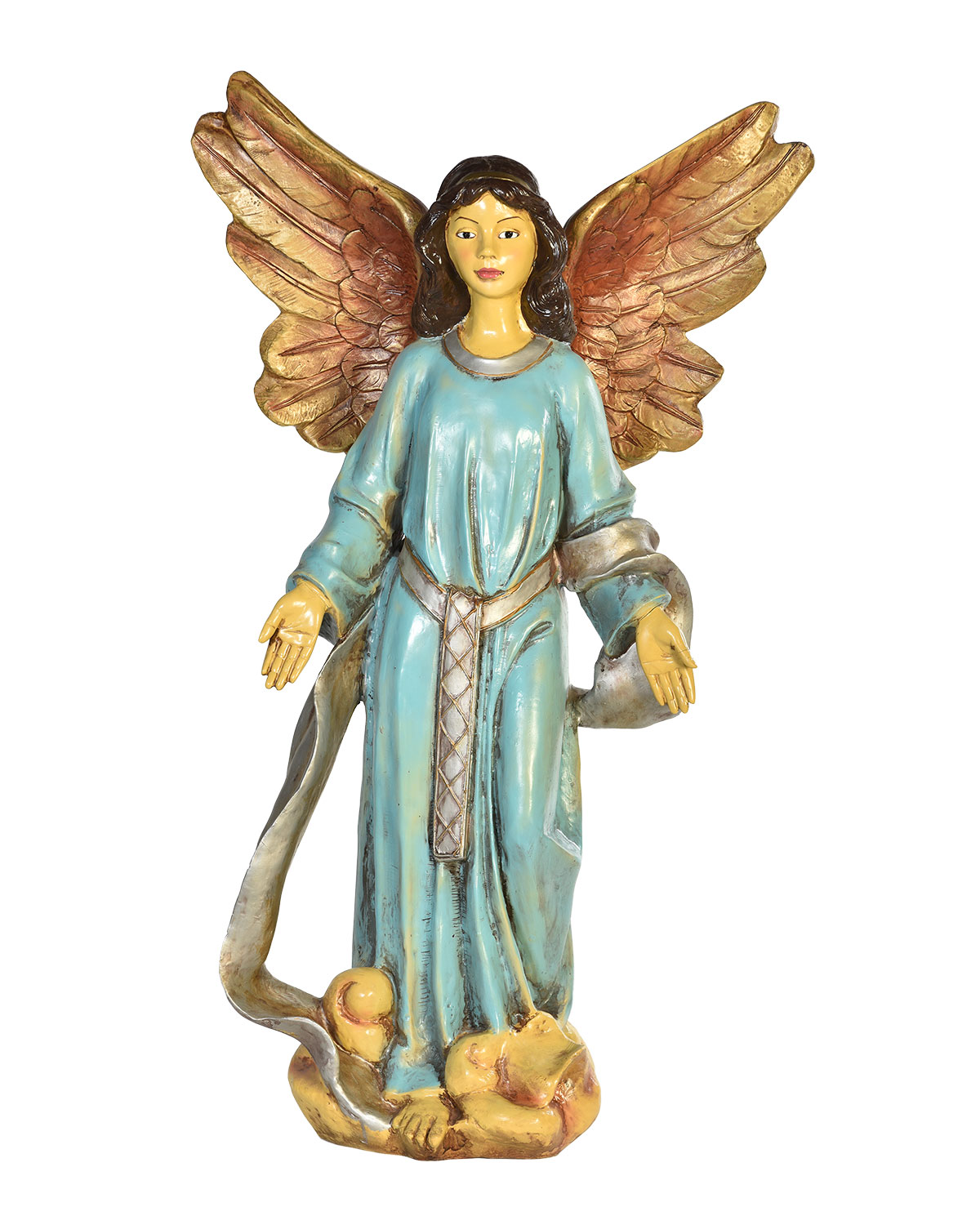 Live Form Small Nativity Angel Outdoor Christmas Decoration