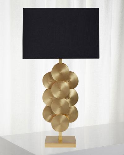 Puzzle Circles Table Lamp