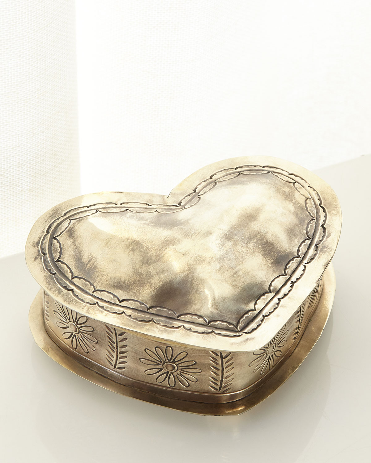 Stamped Corazon Keepsake Box