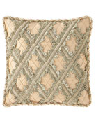 Sweet Dreams Gianna Lattice Boutique Pillow