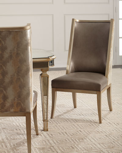 Jerrick Leather Dining Chair