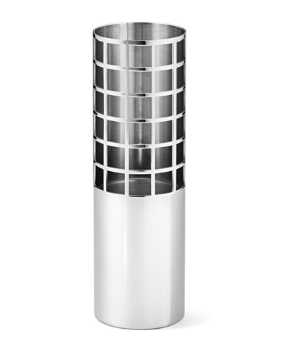 Stainless Steel Imported Vase Neiman Marcus