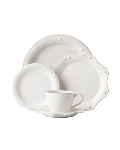 5-Piece Berry Thread Whitewash Dinnerware Place Setting