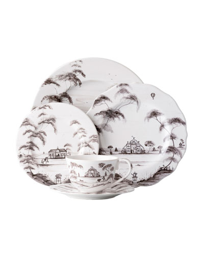 5-Piece Country Estate Flint Dinnerware Place Setting