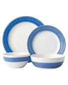 Juliska 4-Piece Le Panier Delft Blue Dinnerware Place
