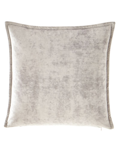 All in Bloom Solid Velvet Pillow