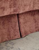 Austin Horn Classics Box Pleat Queen Dust Skirt