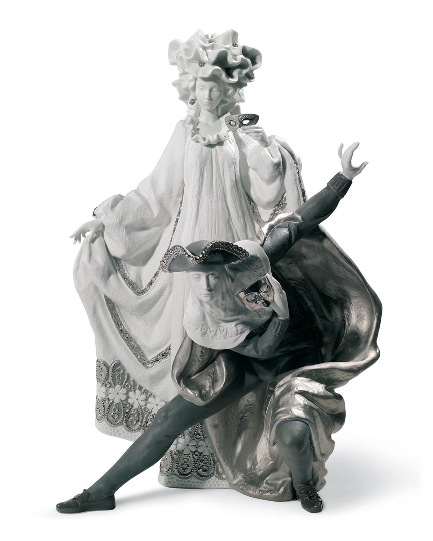 Venetian Carnival Figurine