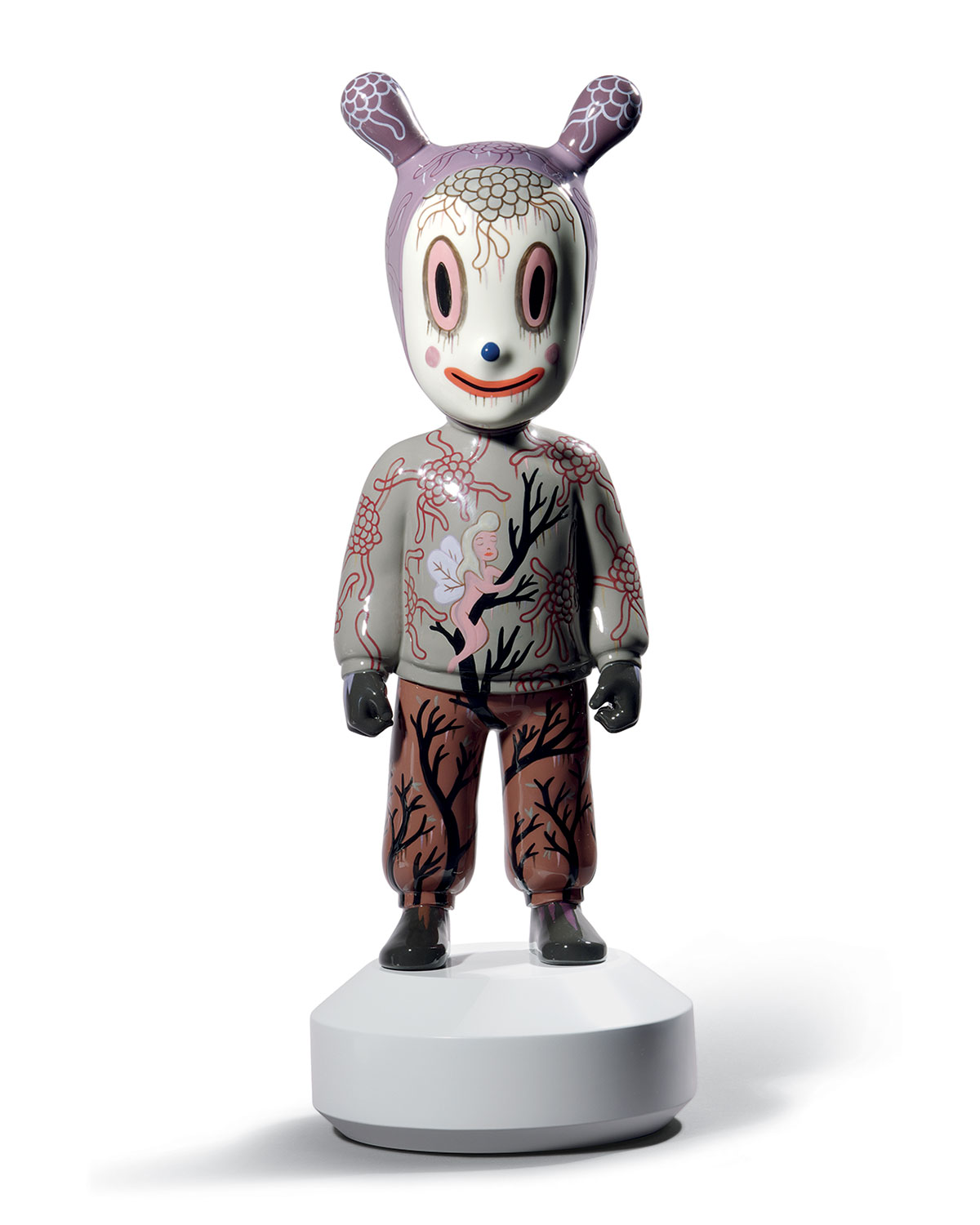 """Lladrò Clothing THE GUEST"""" STATUE BY GARY BASEMAN"""""""