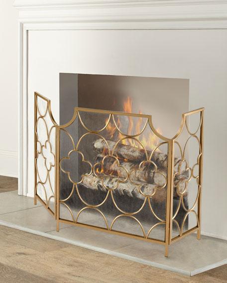 Three Magi Fireplace Screen