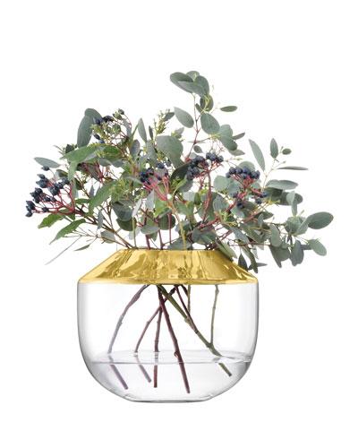 Space Gold Vase
