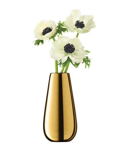 Flower Metallic Bud Vase