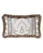 Austin Horn Collection Provence Pieced Lumbar Pillow