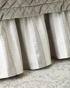Austin Horn Classics Provence Striped Queen Dust Skirt