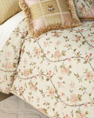 Sweet Dreams Delilah Embroidered Queen Duvet
