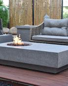 Elementi Metropolis Outdoor Fire Table, LP Gas