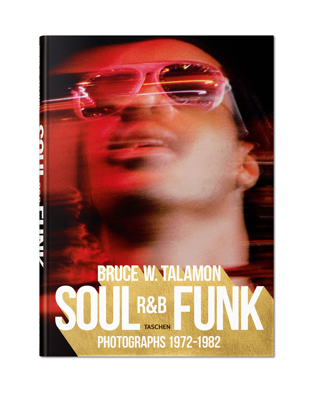 "Get down with such legends as Marvin Gaye, Earth, Wind & Fire, Stevie Wonder, Donna Summer, the Jackson Five, Diana Ross, James Brown, and Chaka Khan in this collection of largely unseen images from the golden age of soul, R & B, and funk. Sourced from our superfly Art Edition, this XL volume gathers all of the glamour and groove captured by photographer Bruce W. Talamon. 376 pages; nearly 300 images. 9.7""W x 13.5""D. Paper. Made in Italy."