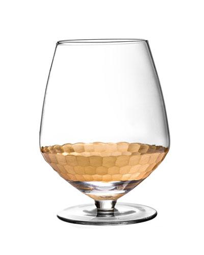 Daphne Gold Pinot Noir Wine Glasses, Set of 4