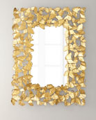 Jamie Young Ginkgo Leaf Mirror