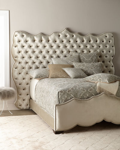 Samara Tufted Queen Bed